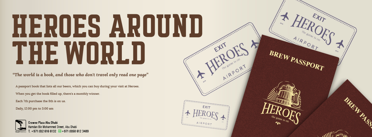 Brews around the World @ Heroes