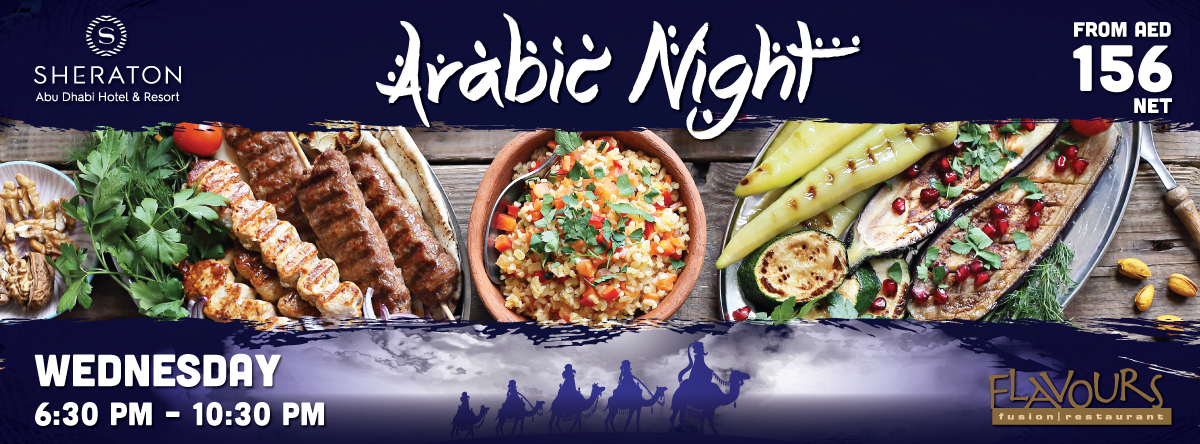 Arabic Night @ Flavours