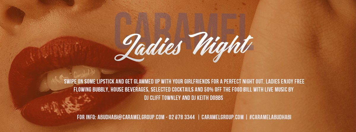 Ladies Night @ Caramel