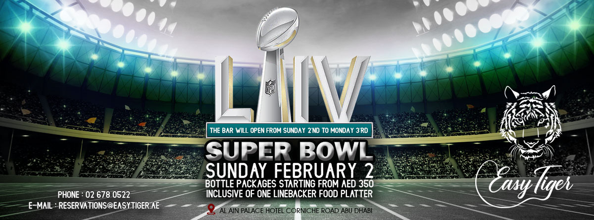 Super Bowl 2020 @ Easy Tiger