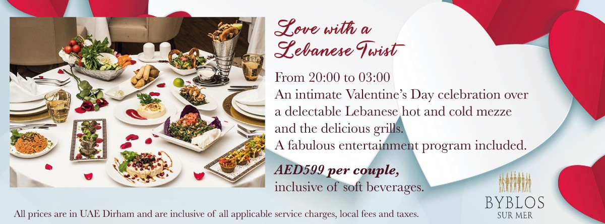 Love with a Lebanese Twist @ Byblos Sur Mer