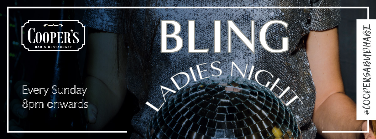 Bling Ladies Night @ Cooper's