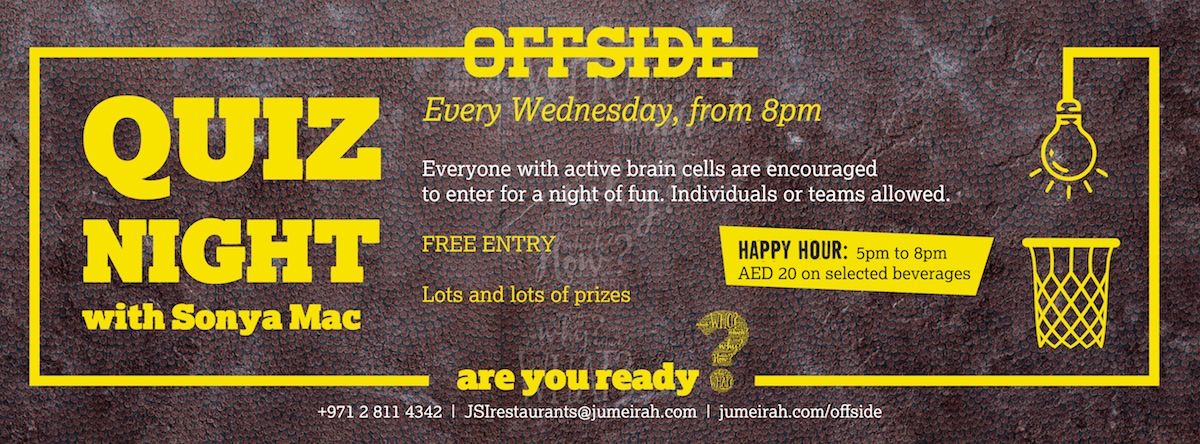 Quiz Night @ Offside