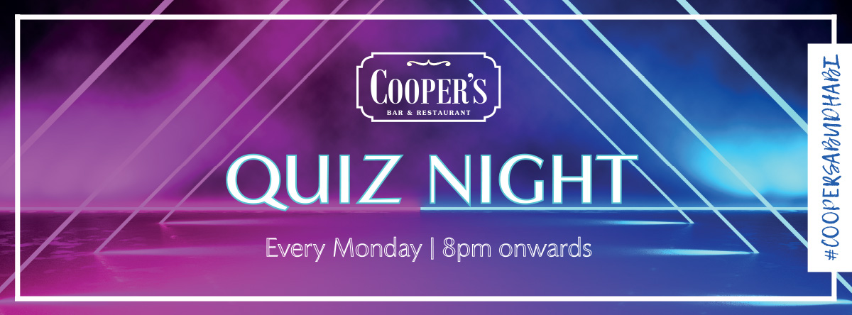 Quiz Night @ Cooper's