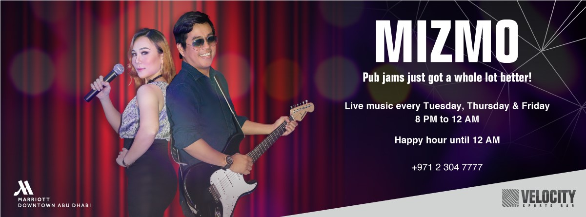 Live Music by Mizmo Band @ Velocity