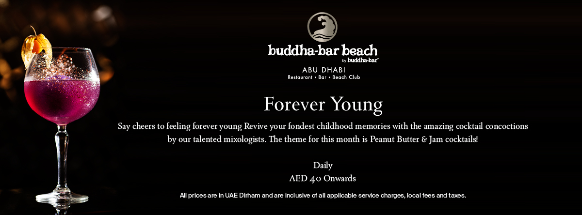 Forever Young @ Buddha-Bar Beach
