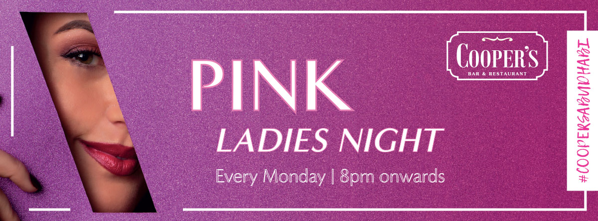 Pink Ladies Night @ Cooper's