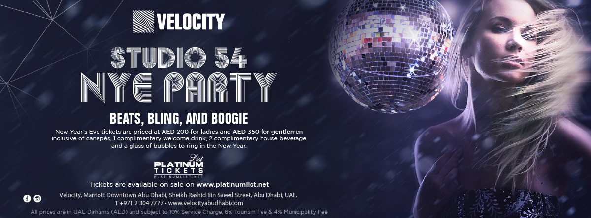 Studio 54 New Year's @ Velocity