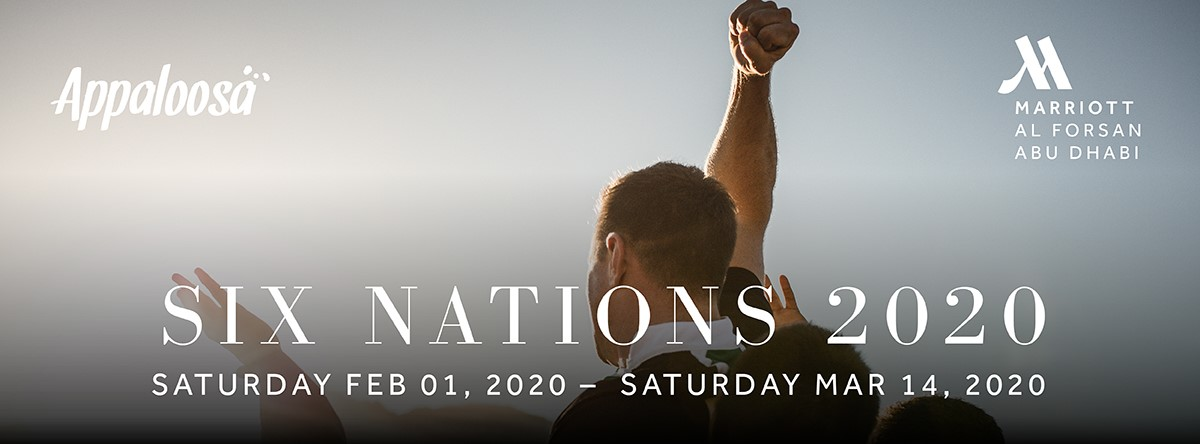 Rugby Six Nations 2020 @ Appaloosa