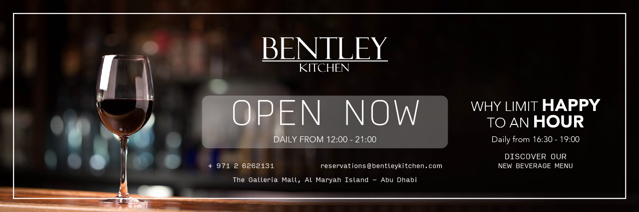 Happy Hour @ Bentley Kitchen