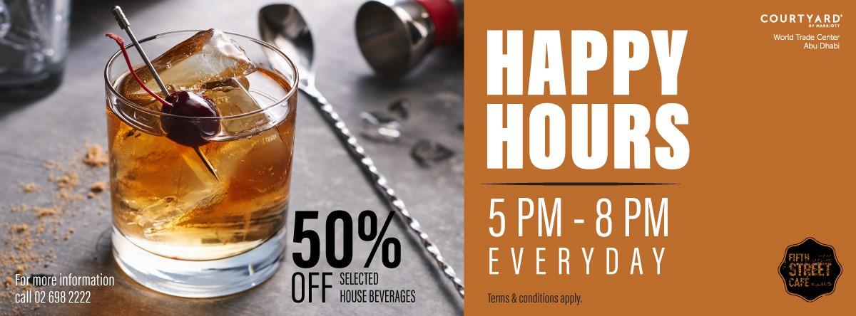 Happy Hour @ Fifth Street Café