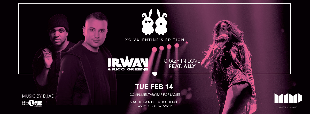 XO Valentine's Edition @ MAD on Yas Island