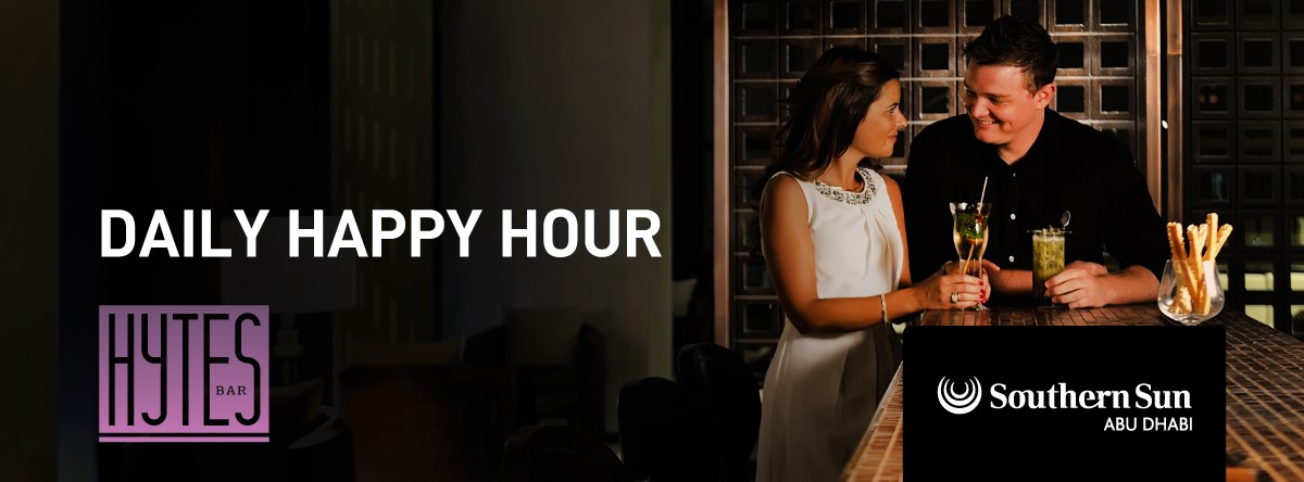 Daily Happy Hour @ Hytes Bar at Southern Sun Abu Dhabi