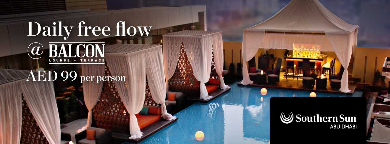 Daily Free Flow @ Balcon Lounge & Terrace