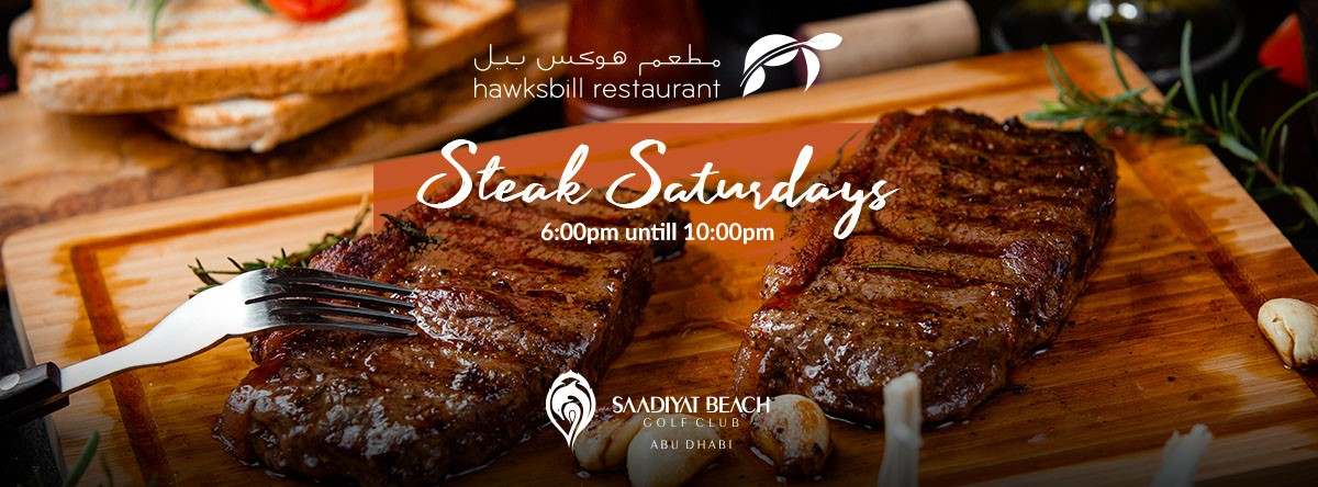 Steak Saturday @ Hawksbill Restaurant