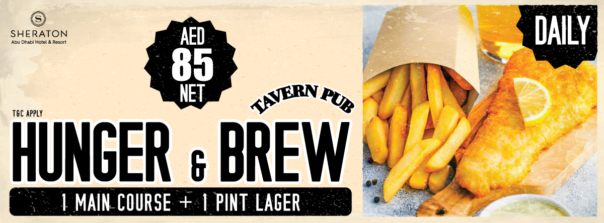 Hunger & Brew @ Tavern Pub