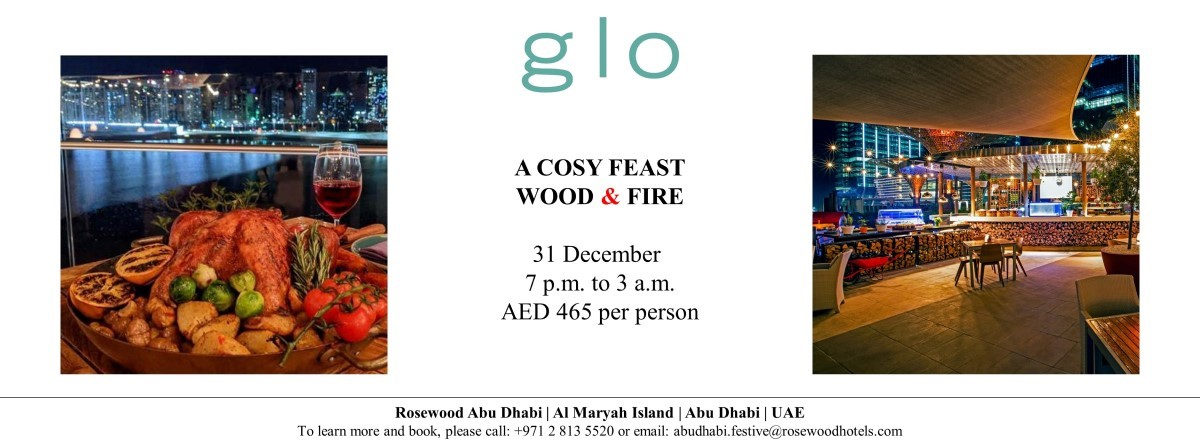 Cosy Feast Wood & Fire @ Glo