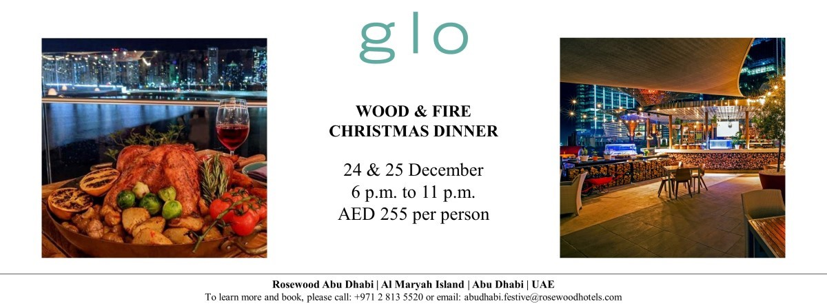 Wood & Fire Christmas Dinner @ Glo