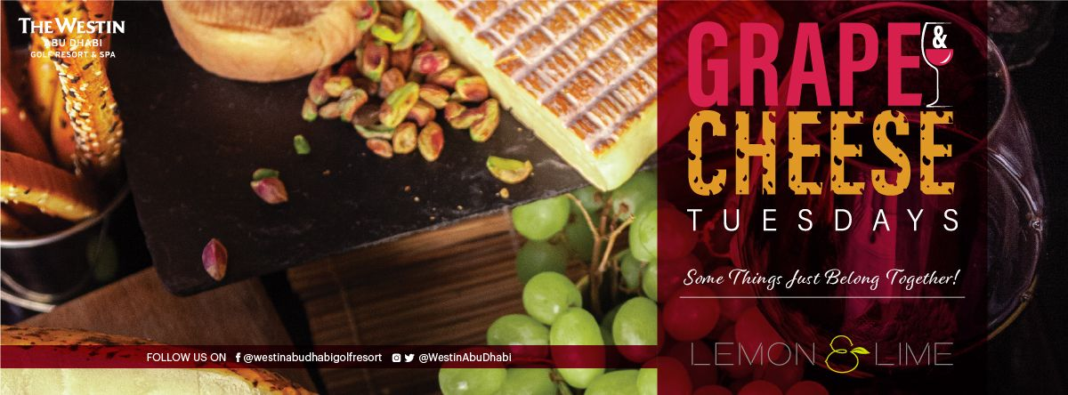 Grape & Cheese Tuesdays @ Lemon & Lime