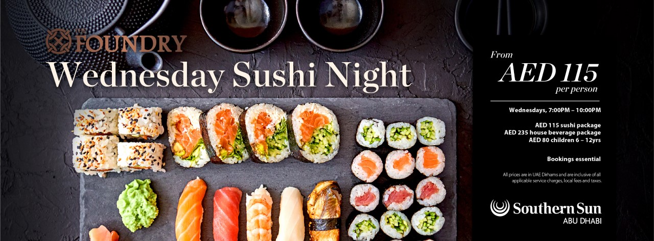 Sushi Night @ The Foundry
