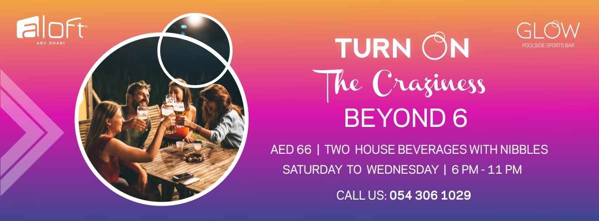 Turn On The Craziness – Beyond 6 @ Glow - Poolside Sports Bar
