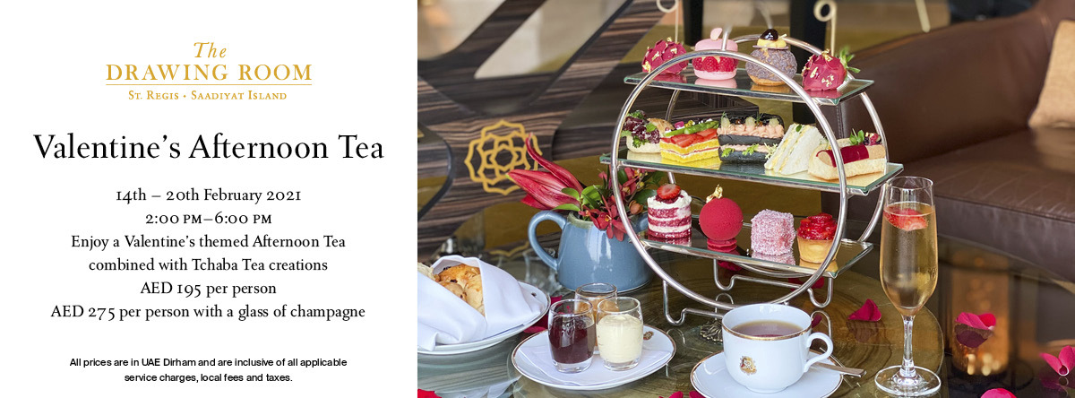 Valentine's Day Afternoon Tea @ The Drawing Room and The Signature 3