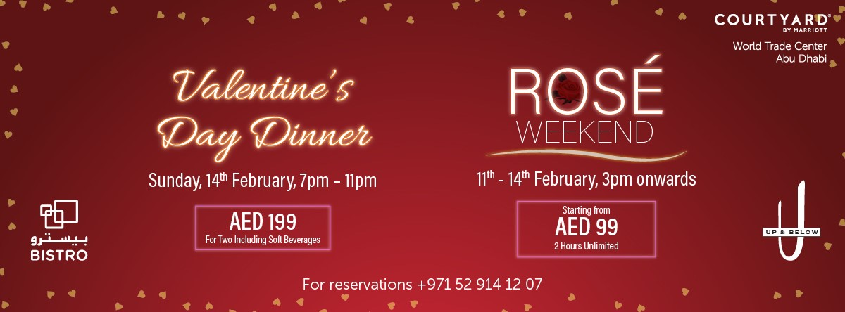 Rose Weekend @ Up & Below