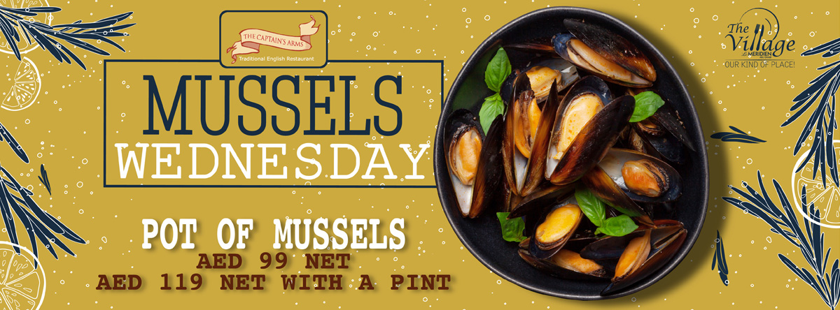 Mussel Wednesdays @ Captain's Arms