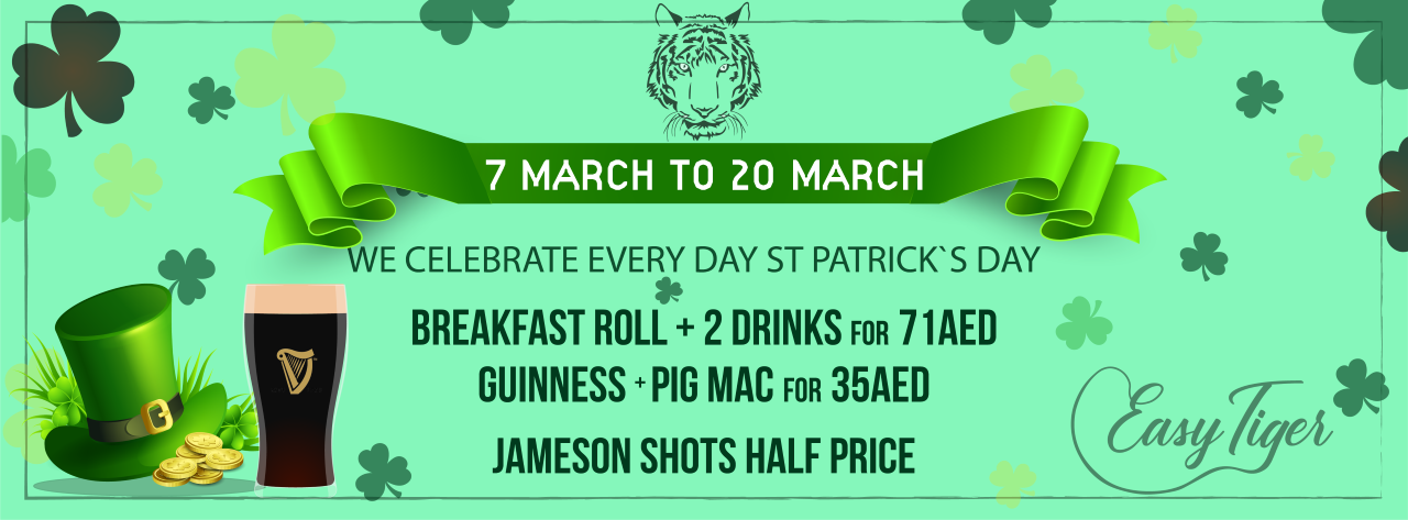 St Patrick's Day @ Easy Tiger