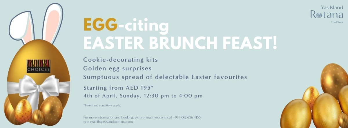 EGG-citing Easter Brunch Feast @ Choices