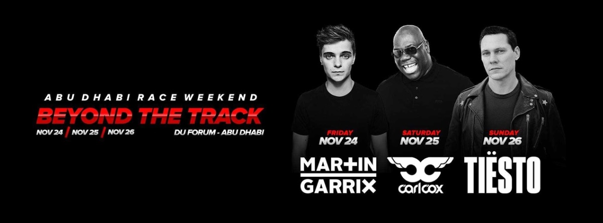 Carl Cox @ Du Forum (Beyond the Track)