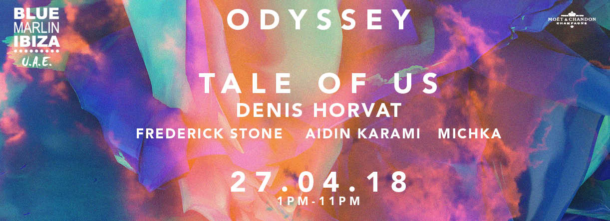 Odyssey: Tale Of Us and Denis Horvat by Blue Marlin Ibiza UAE