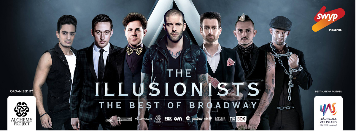 The Illusionists - The Best of Broadway @ Du Forum