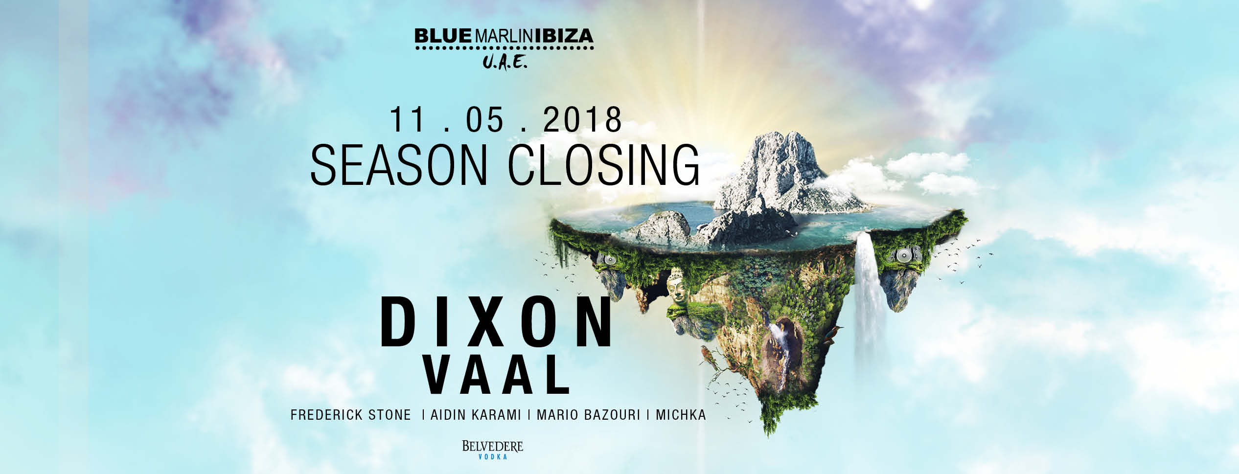Closing Weekend: Dixon and Vaal @ Blue Marlin Ibiza UAE