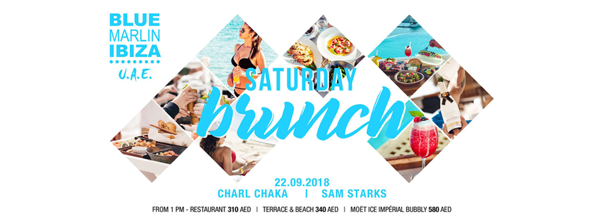 Saturday Brunch Launch @ Blue Marlin Ibiza UAE