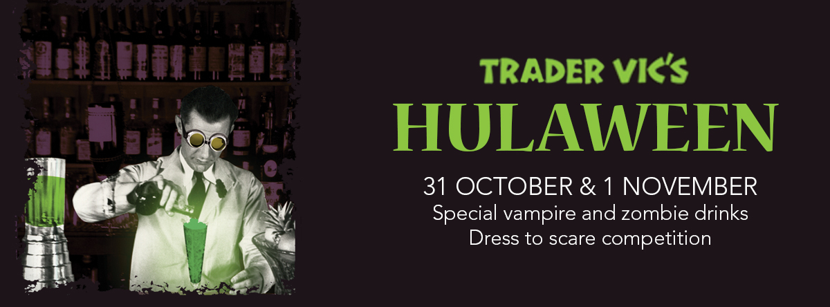 Hulaween Party @ Trader Vic's