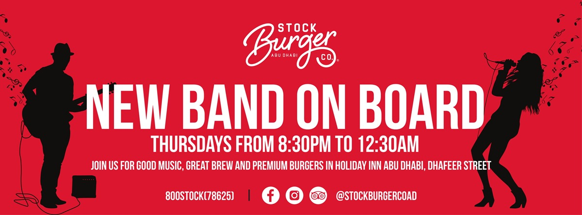 New Band on Board @ Stock Burger Co.