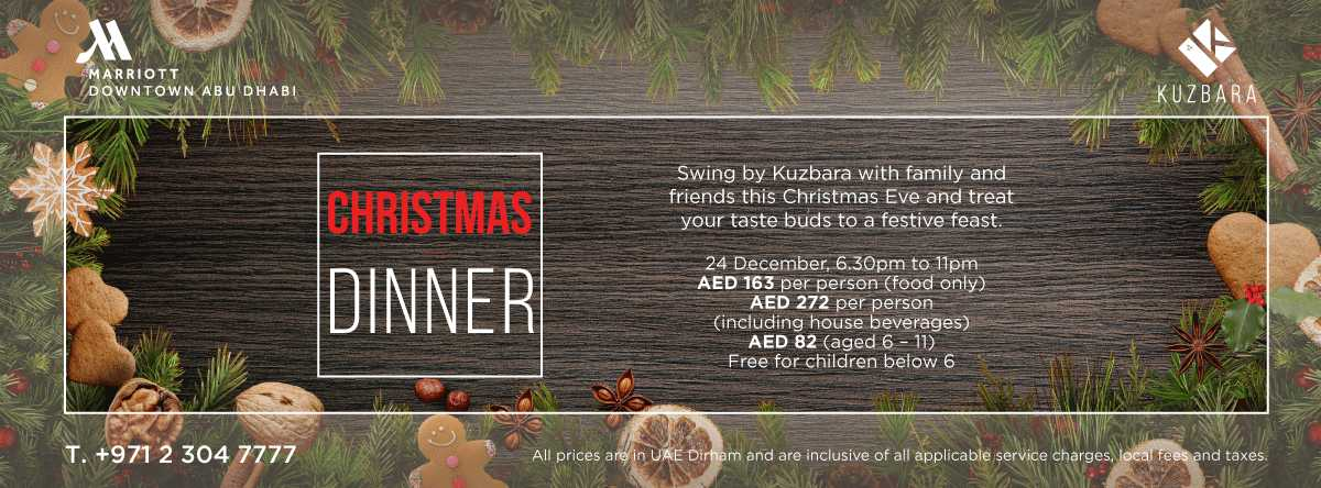 Christmas Eve @ Kuzbara