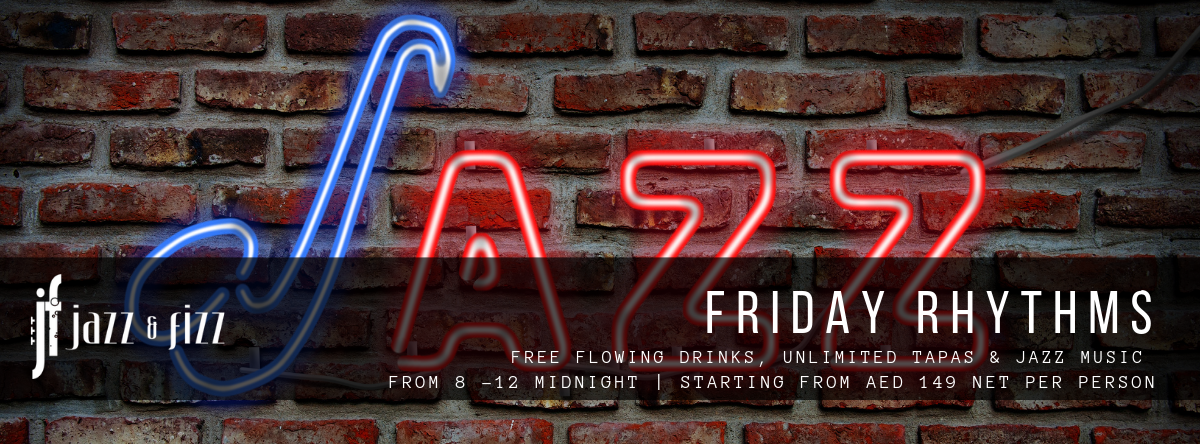 Friday Rhythms @ Jazz & Fizz