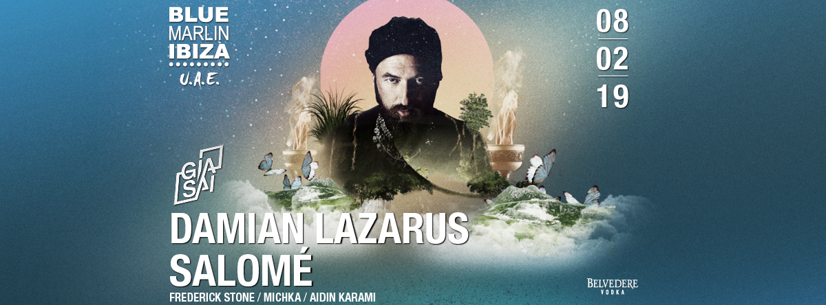 Damian Lazarus & Salomé with Gia Sai @ Blue Marlin Ibiza