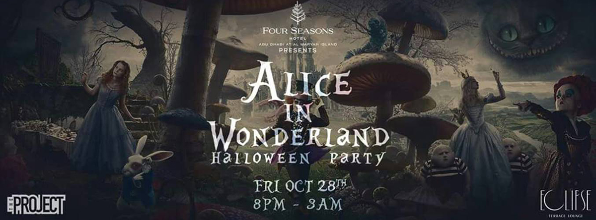 Alice in Wonderland Halloween Party
