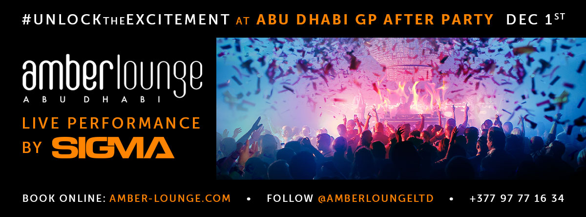 Amber Lounge F1 Post-Race Party