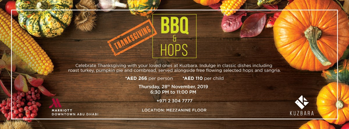 BBQ & Hops Thanksgiving Edition @ Kuzbara