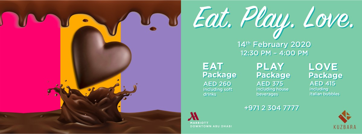 EAT.PLAY.LOVE. Chocolate Brunch @ Marriott Abu Dhabi