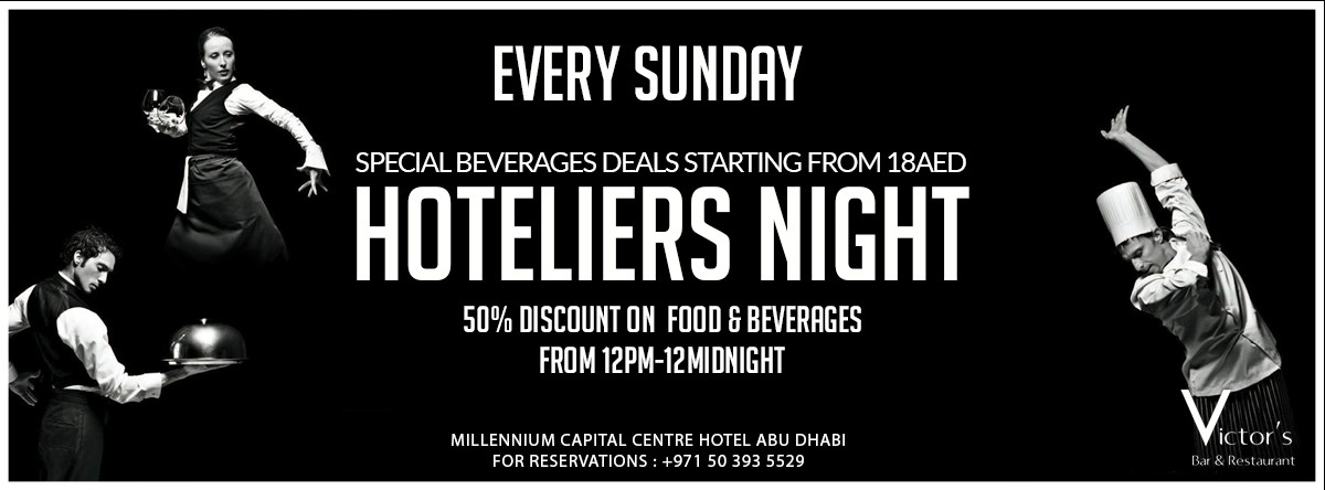 Hoteliers Night @ Victor's