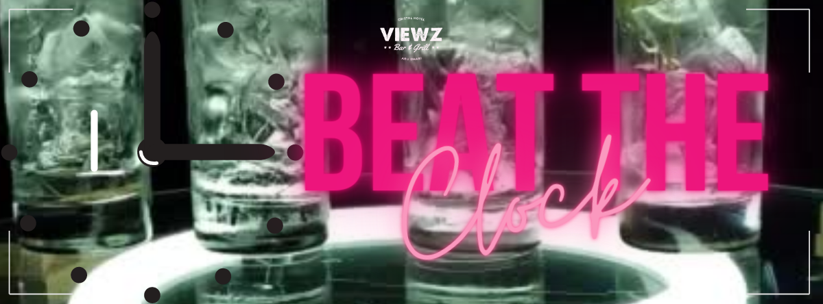 Beat the Clock Drinkz Promo @ Viewz Bar