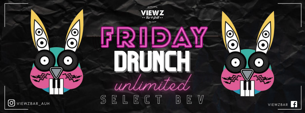 Friday Drunch @ Viewz Bar
