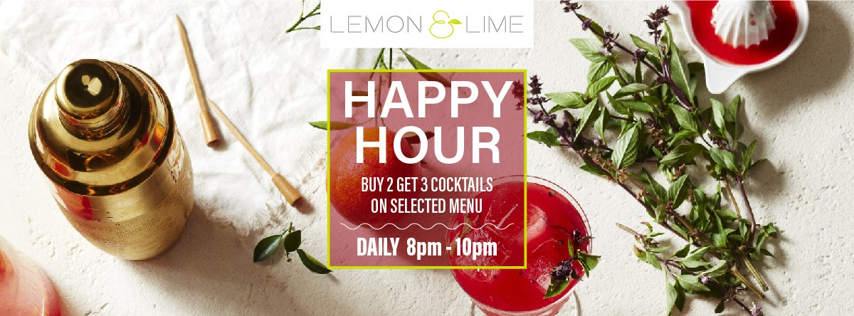 Happy Hour @ Lemon & Lime